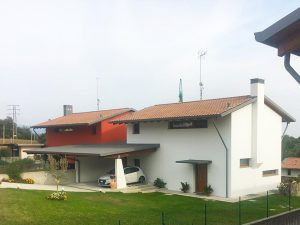 Costruzione casa a Treppo Udine